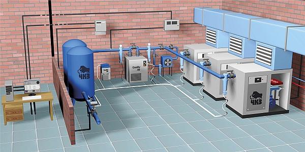 Những yếu tố cần quan tâm khi lắp đặt hệ thống khí nén :