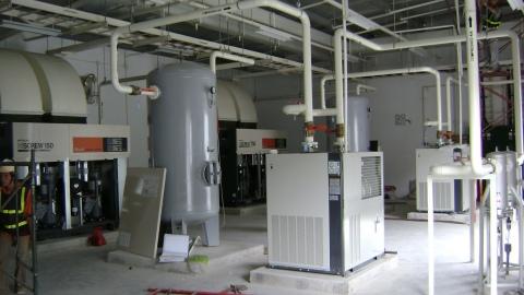 Lưu ý khi lắp đặt hệ thống điện cho máy nén khí